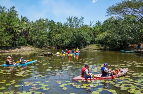 Canoeing at the BACAB Eco Adventure Park
