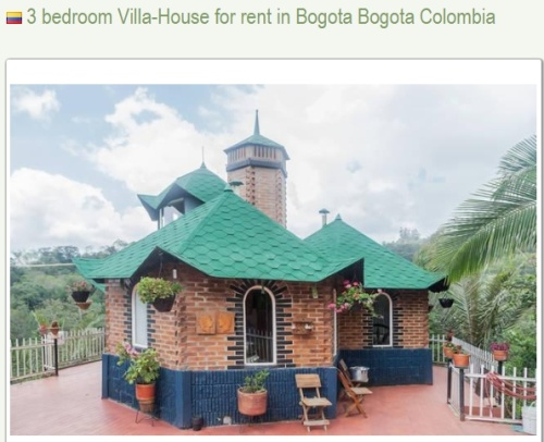 3 Bedroom Country House Close to Bogota, Found at LongTermLettings.com