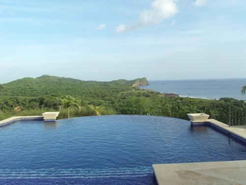 View from a friend's house in Nicaragua