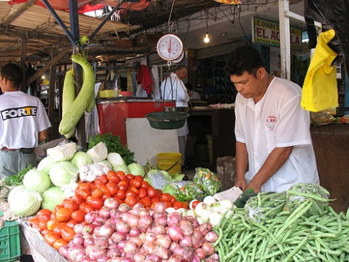 Fruit and Vegetable Market in Barranquilla, Colombia