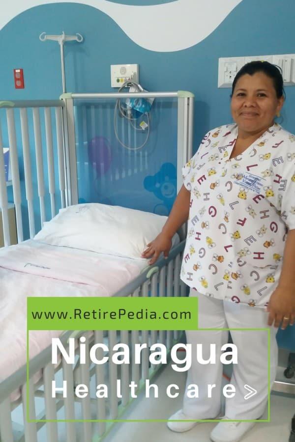 Nurse at the Vivian Pellas Hospital, Managua, Nicaragua