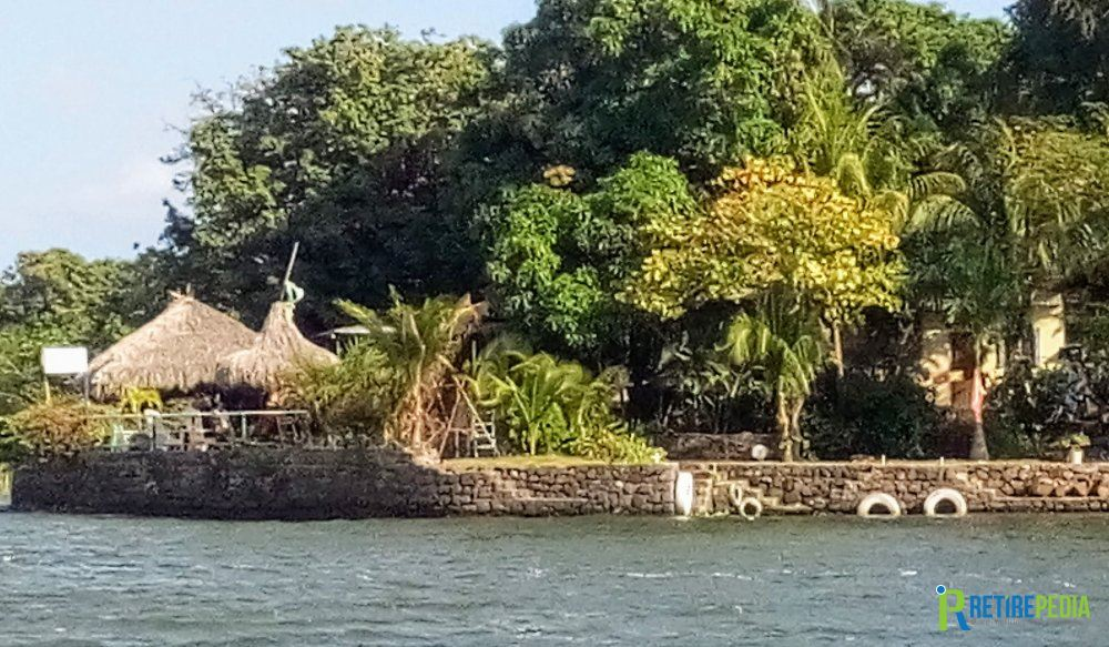 When the Mombacho volcano erupted some 20,000 years ago, it created 365 islets in Lake Nicaragua. Some of them are uninhabited, some are privately owned and others (like the one in the photo) have a restaurant or hotel on them.