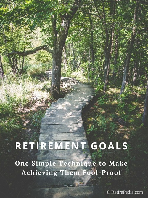 How to Make Achieving Your Retirement Goals Fool-Proof