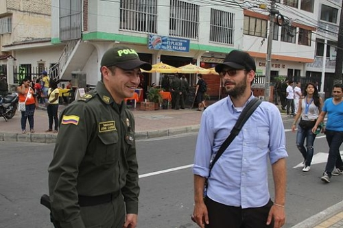 Tourist Police in Colombia