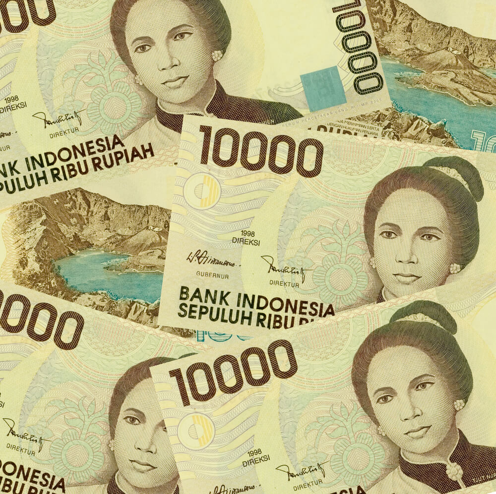 Indonesian currency 10,000 Rupiah
